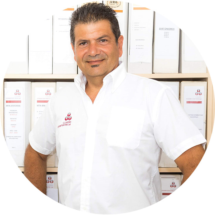 Christos-General-Manager-Exhibitionwise-Limassol-2019